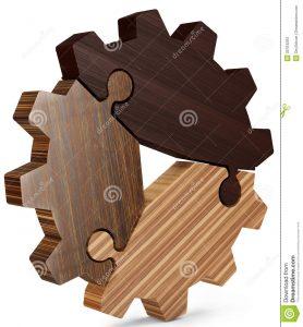 Obchodná spolupráca puzzle