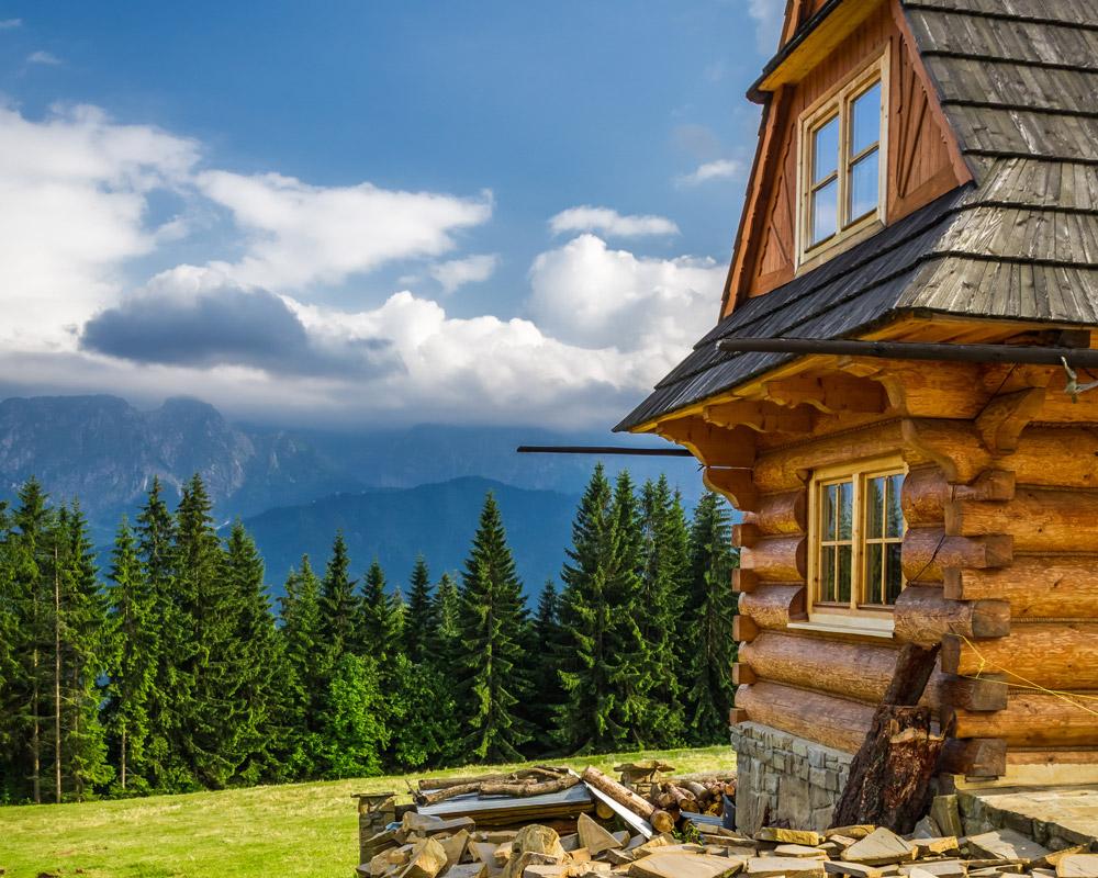 chata z dreva