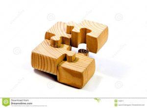 Drevené puzzle