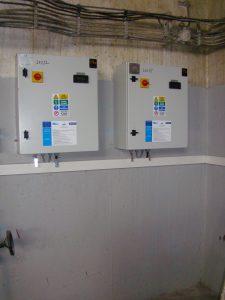 rozvodné elektrické skrine