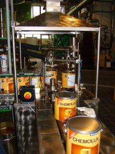 proces výroby Chemolak
