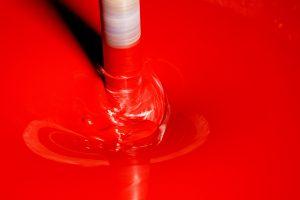 červená farba Chemolak