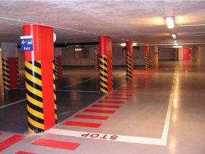 nátery podláh v podzemnom parkovisku