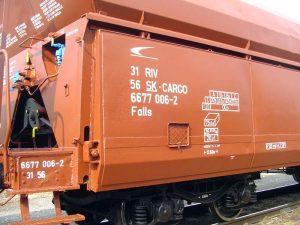 vozeň nákladného vlaku