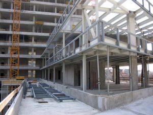 stavebné oceľové konštrukcie exteriér