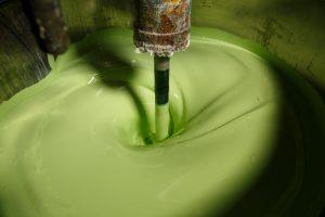 zelená farba Chemolak