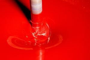farba cervena