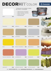 vzorkovnik farieb decorhit color