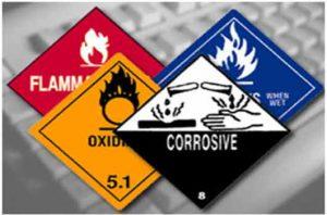 výstražné označenia nebezpečných látok