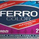Chemolak produkt Ferro color proti hrdzi