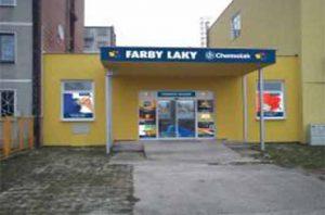 Chemolak predajňa FARBY-LAKY Previdza