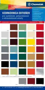vzorkovnik farieb syn pur a nitro farby