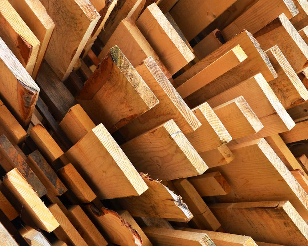 drevené materiály