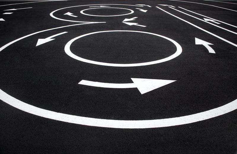 Nátery vodorovného dopravného značenia